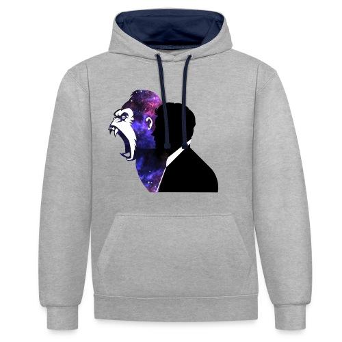 Gorilla - Contrast hoodie