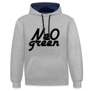 Ne0Green - Sweat-shirt contraste