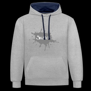 sausig - Contrast hoodie