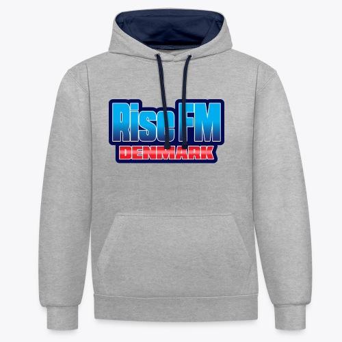 Rise FM Denmark Text Only Logo - Kontrast-hættetrøje