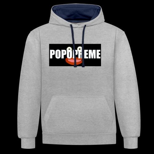 Popo Merch #2 POPOPREME LIMITED EDITION - Kontrastluvtröja