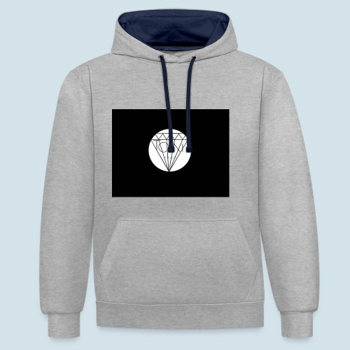 Toin clothing logo - Contrast hoodie