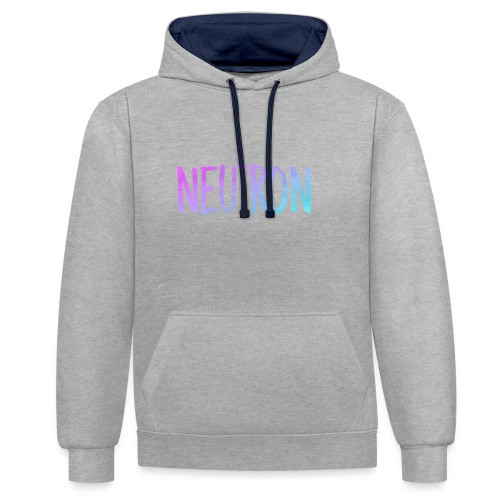 SMOKED OUT - Contrast Colour Hoodie