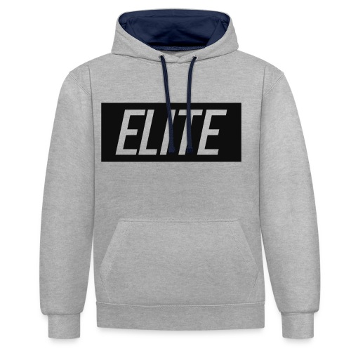 Elite Designs - Contrast Colour Hoodie