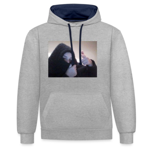 funny - Contrast Colour Hoodie