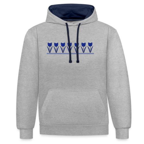 tulpen - Contrast hoodie