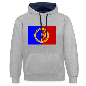 1200px Flag of the Comanche Nation svg - Sweat-shirt contraste