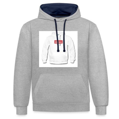 Soppas hoodie - Contrast Colour Hoodie