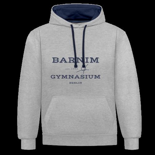 Barnim est. 1993 (dunkelblau) - Kontrast-Hoodie