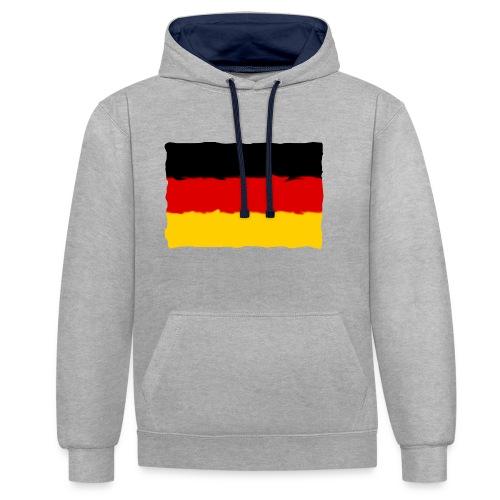 germany - Sudadera con capucha en contraste