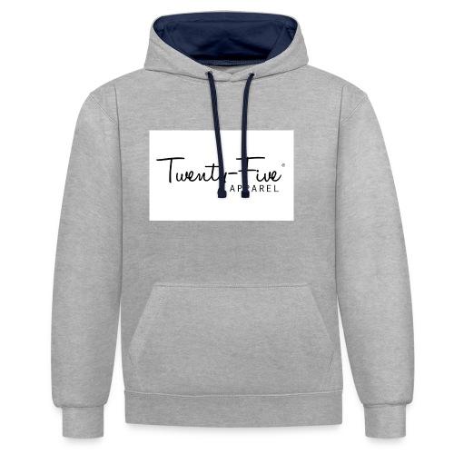 Twenty-Five Apparel - Contrast hoodie