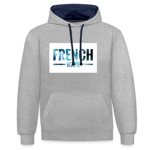 FRENCH WAVE LOGO - Sweat-shirt contraste