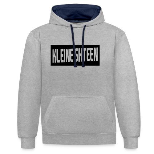 kleine shteen - Contrast hoodie