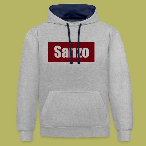 Sanzo - Contrast hoodie