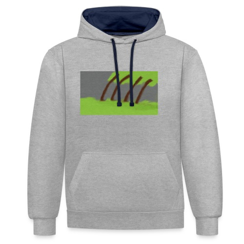 Storm in the Wind - Contrast hoodie