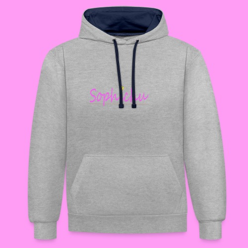 Sophichu T-Shirt - Contrast hoodie