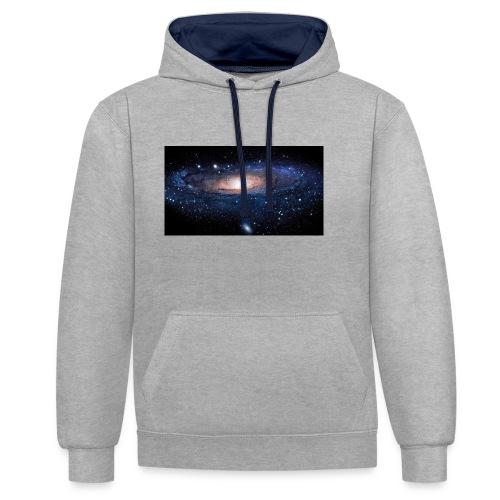 Galaxy - Sweat-shirt contraste