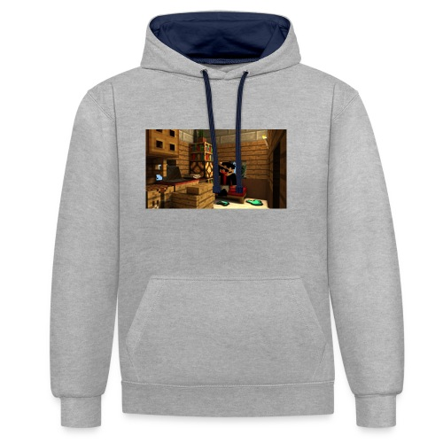 TRadeOfNorway T-Skjorte - Kontrast-hettegenser