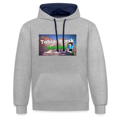Tobias Norsk Gaming - Kontrast-hettegenser