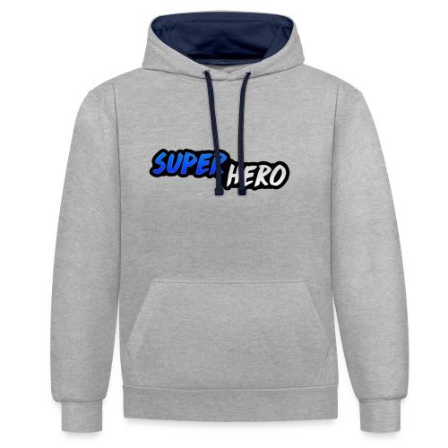 SuperHeroMerchandise - Contrast hoodie
