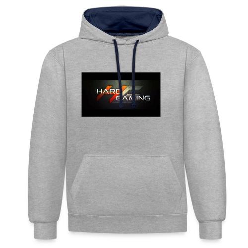 HG Logo - Kontrast-Hoodie