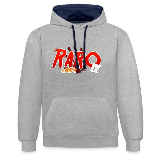 #Maya Raro Merch - Contrast Colour Hoodie