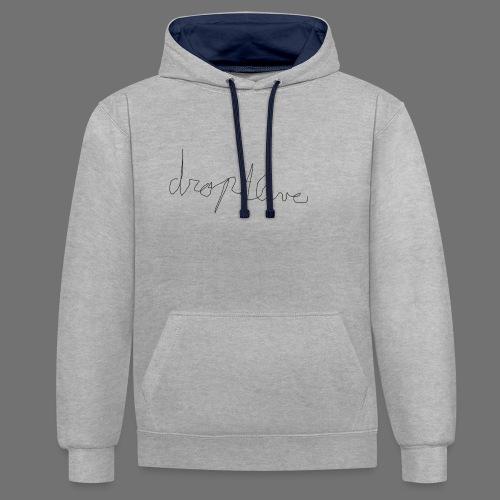 DropAlive - Contrast hoodie