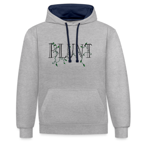 B L U N T - Sweat-shirt contraste