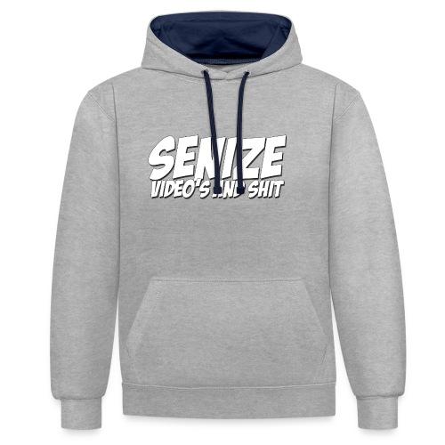T-shirt Senize - Contrast hoodie