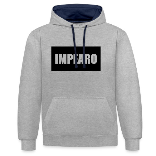 Impearo - Contrast Colour Hoodie