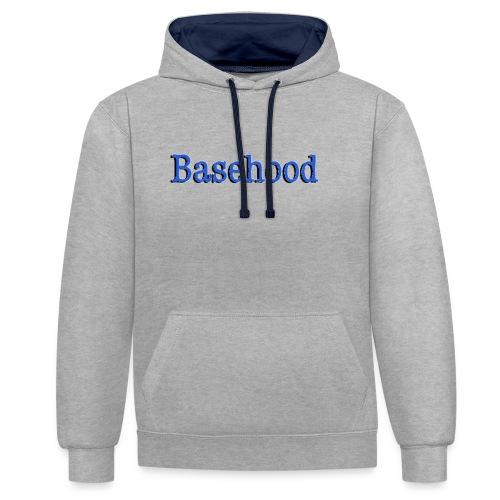 Basehood Basic Logo - Contrast hoodie
