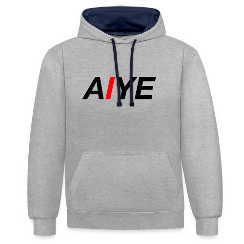 AIYE Basic Logo - Contrast hoodie