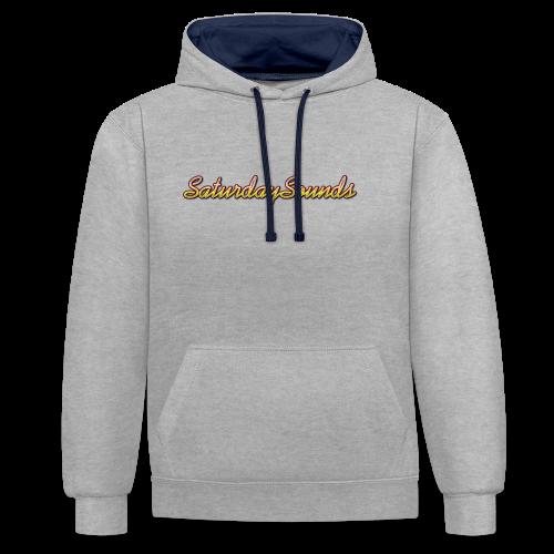 SaturdaySounds Hoes voor lPhone 5/5s. - Contrast hoodie
