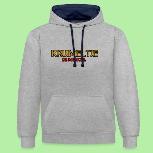 Hoesje I-phone 6/6s Kruimeltje de Musical - Contrast hoodie