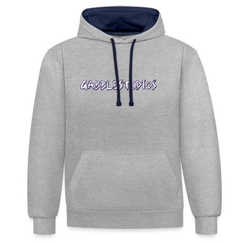 GabbleStudios Logo - Contrast Colour Hoodie