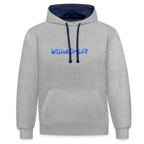 WilLucCraft SweatShirt - Kontrast-hættetrøje