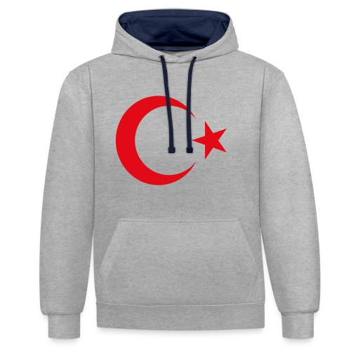 lphone 4/4S Turkey Case - Contrast hoodie