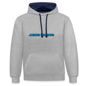 Jumba Trumba Spreadshirt - Contrast Colour Hoodie