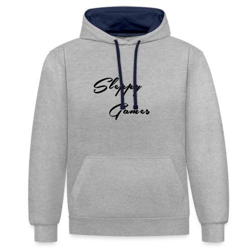 Sleppy Games Merch - Contrast hoodie
