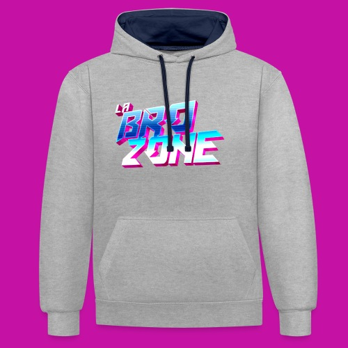 La BroZone ! - Sweat-shirt contraste