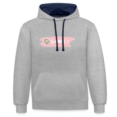 Got MILF Milfcafe Shirt Mama Muttertag - Kontrast-Hoodie