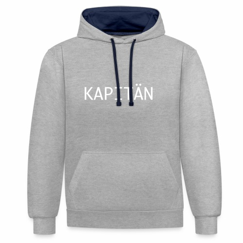 Kapitän Shirt - Kontrast-Hoodie