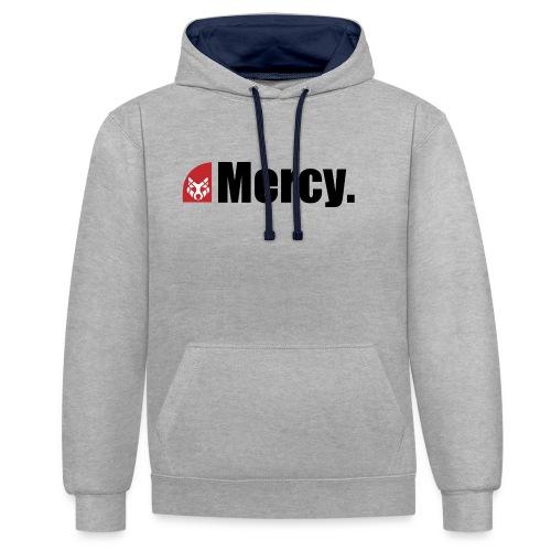 Mercy. - Kontrast-Hoodie