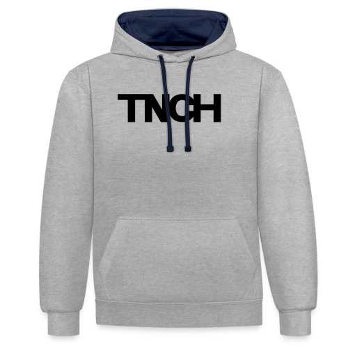 TNCHblack - Contrast Colour Hoodie