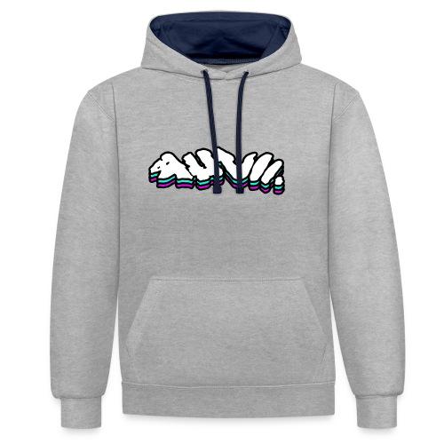 AHVII | Get Spacey - Contrast hoodie