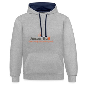 ManzaBull - Sweat-shirt contraste