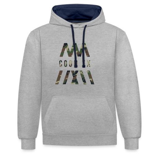 COON FX-ARMY STYLE - Kontrast-Hoodie