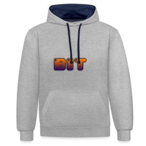 Single B IT - Kontrast-Hoodie