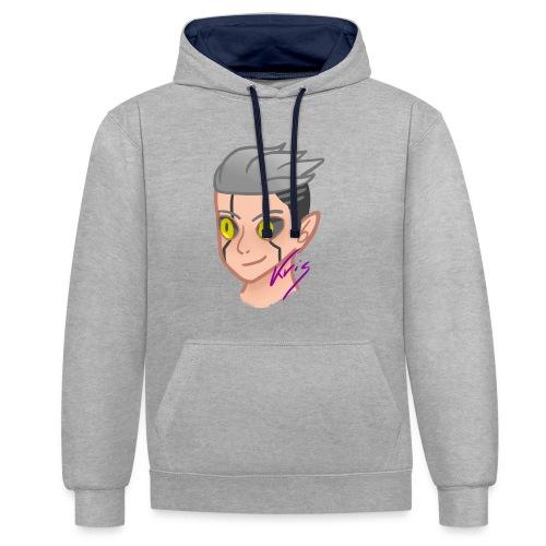 Elf Demon T-shirt - Contrast Colour Hoodie