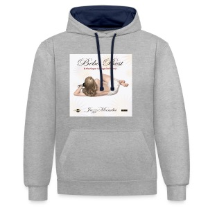 dc_3071 Bebo_Best _-_-_-_ JazzMamba_ album_cover- - Contrast Colour Hoodie